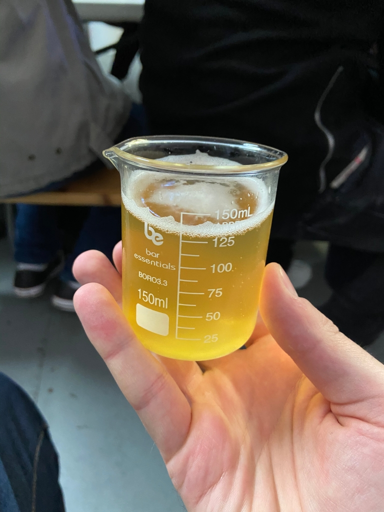 Tasting at London Beer Lab