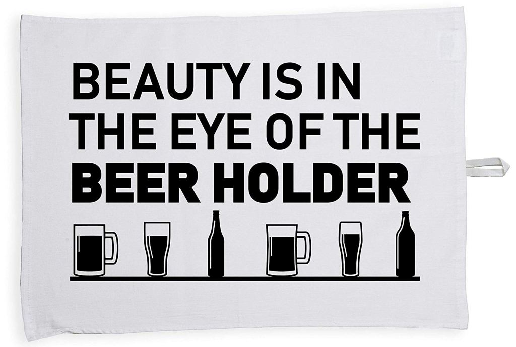 Beer tea towel